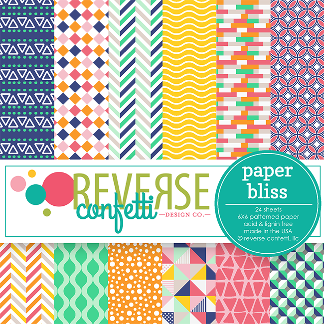 Paper Bliss 6x6 Pad