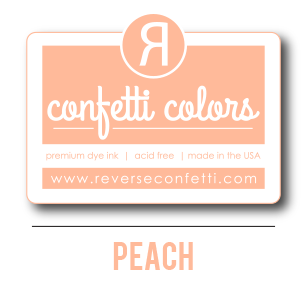 Peach Dye Ink Pad