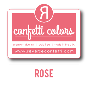 Rose Dye Ink Pad