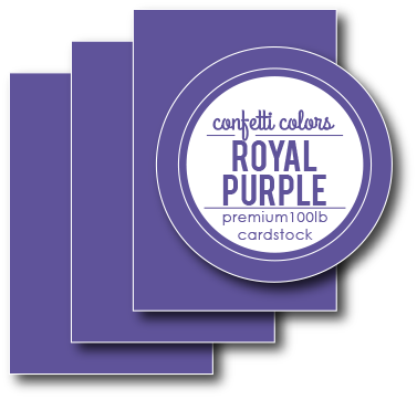 Royal Purple Cardstock 8.5 x 11