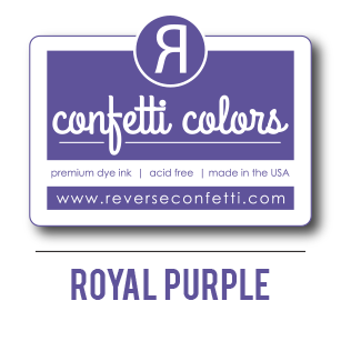 Royal Purple Dye Ink Pad