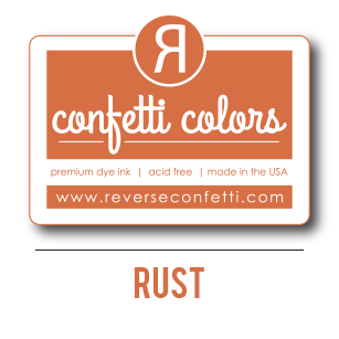 Rust Dye Ink Pad