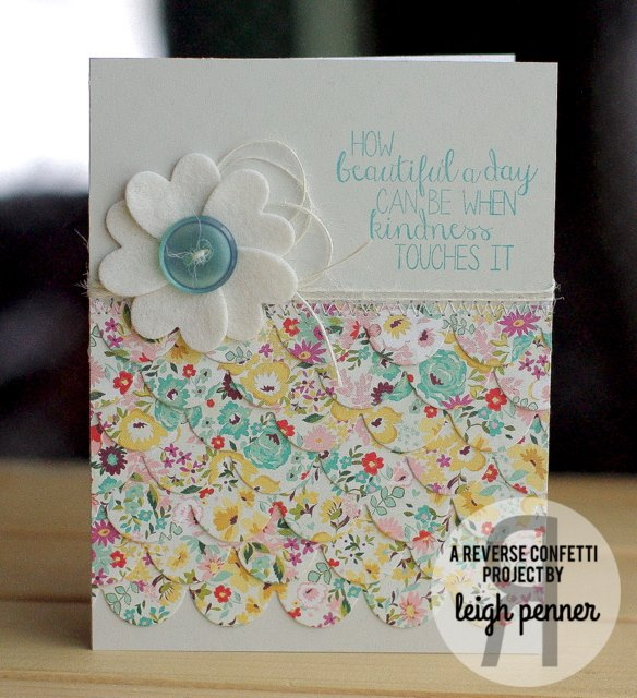 Double Edge Scallop Border Confetti Cuts