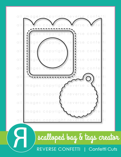 Scalloped Bag & Tags Creator