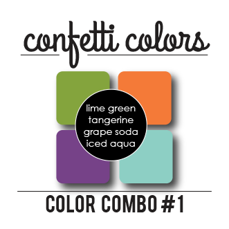 Color Combo #1 Dye Ink Cubes