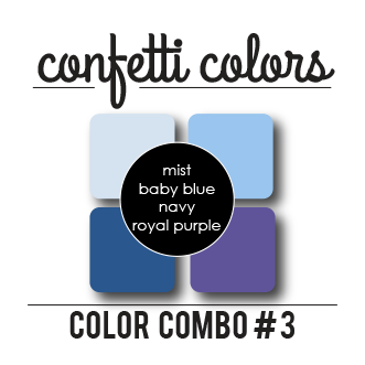 Color Combo #3 Dye Ink Cubes