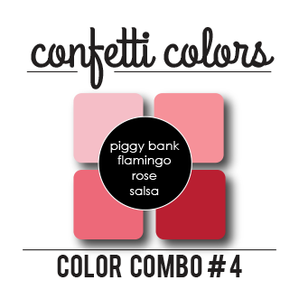 Color Combo #4 Dye Ink Cubes