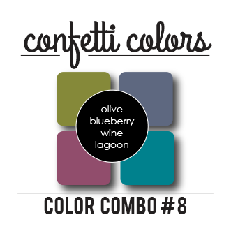 Color Combo #8 Dye Ink Cubes