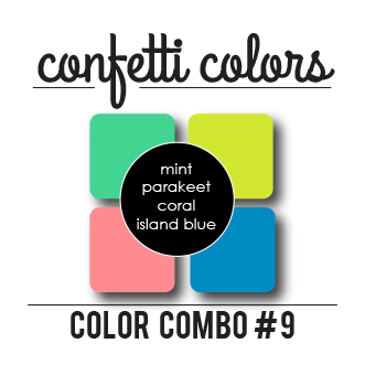 Color Combo #9 Dye Ink Cubes