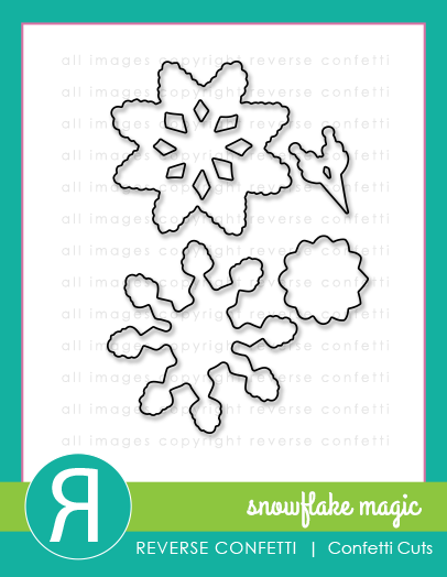 Snowflake Magic Confetti Cuts