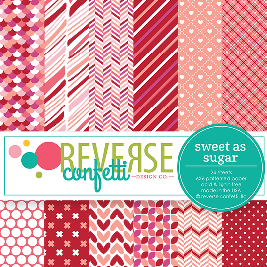 Sweet as Sugar 6x6 Paper Pad
