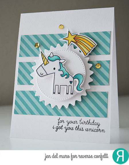 Unicorn Wishes Confetti Cuts