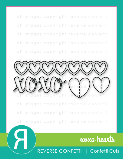XOXO Hearts Confetti Cuts