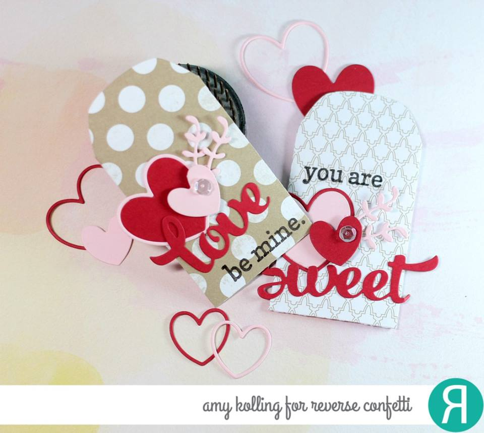 Lovey Words Confetti Cuts