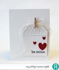 Heart Tag Toppers Confetti Cuts