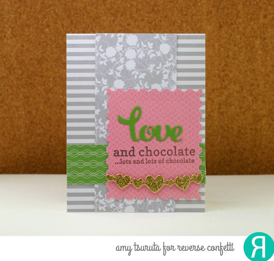 Stamped Note Confetti Cuts