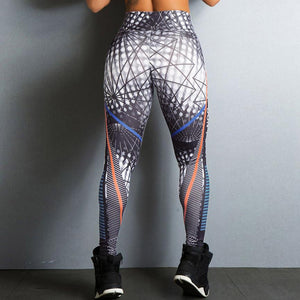High Waist Yoga Pants Fitness sports Breathable