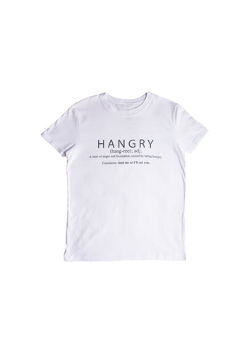 HANGRY TEE (BLACK AND WHITE)