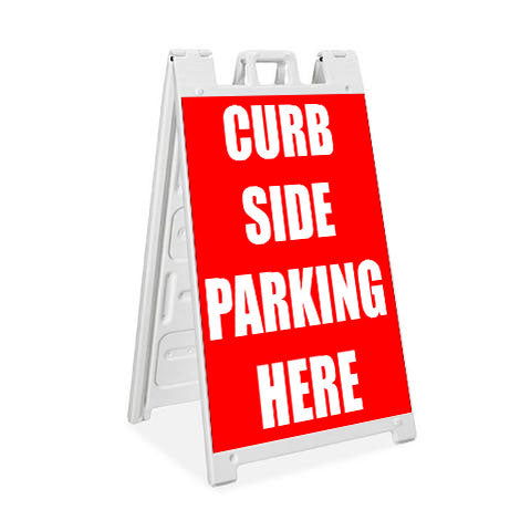 Curbside Parking - Plasticade Signicade® - Milweb1