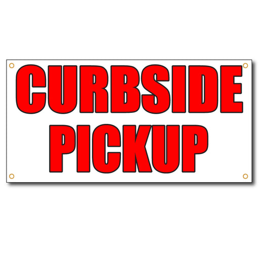 Curbside Pick - 13oz Vinyl Banner - Milweb1