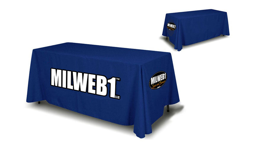 6' TABLE COVER - Milweb1