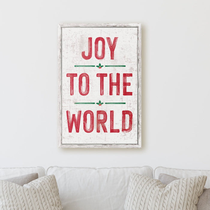 Joy To The World - Canvas Print - Milweb1