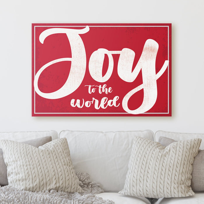 Joy The The World - Canvas Print - Milweb1
