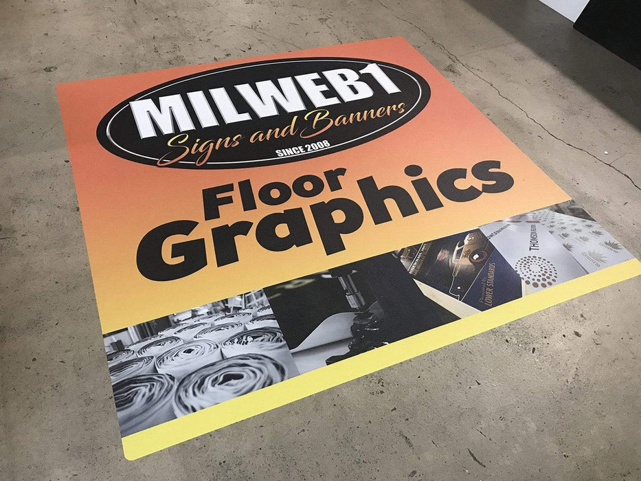 Social Distancing Floor Decals - Thank You For Maintaining - Line Packs - Milweb1
