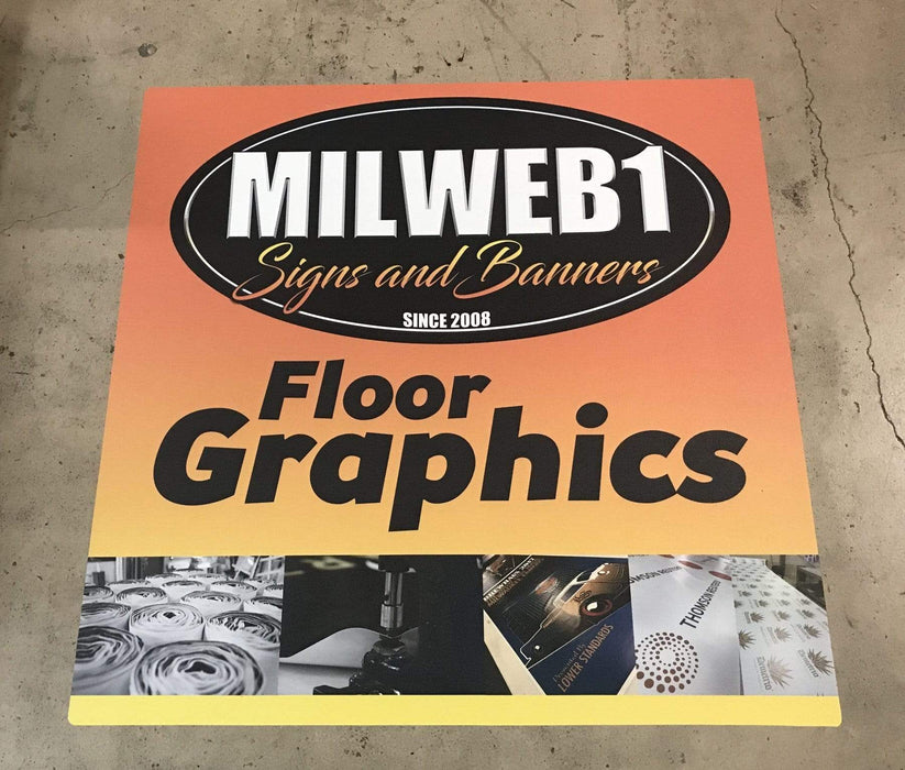 Removable Floor/Wall Decal - Milweb1