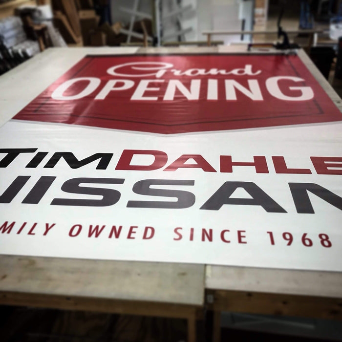 13oz Vinyl Banner By The Sqft - Milweb1