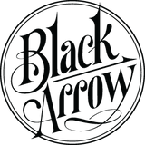Black Arrow Label logo