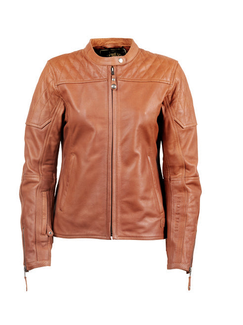 Roland Sands Design Trinity buffalo ladies leather Motorcycle jacket