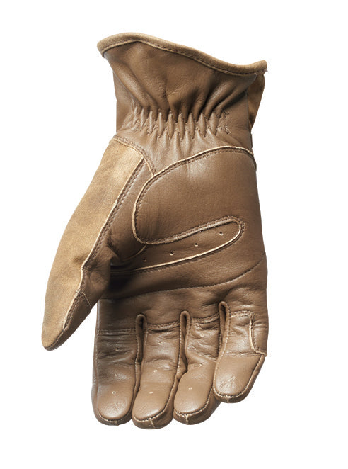 Roland Sands Design Truman waxed cotton leather motorcycle gloves