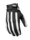 Roland Sands Design Strand Gloves Black and White
