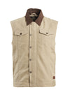 Roland Sands Design Ramone Duck Cotton Canvas Motorcycle Riding Vest