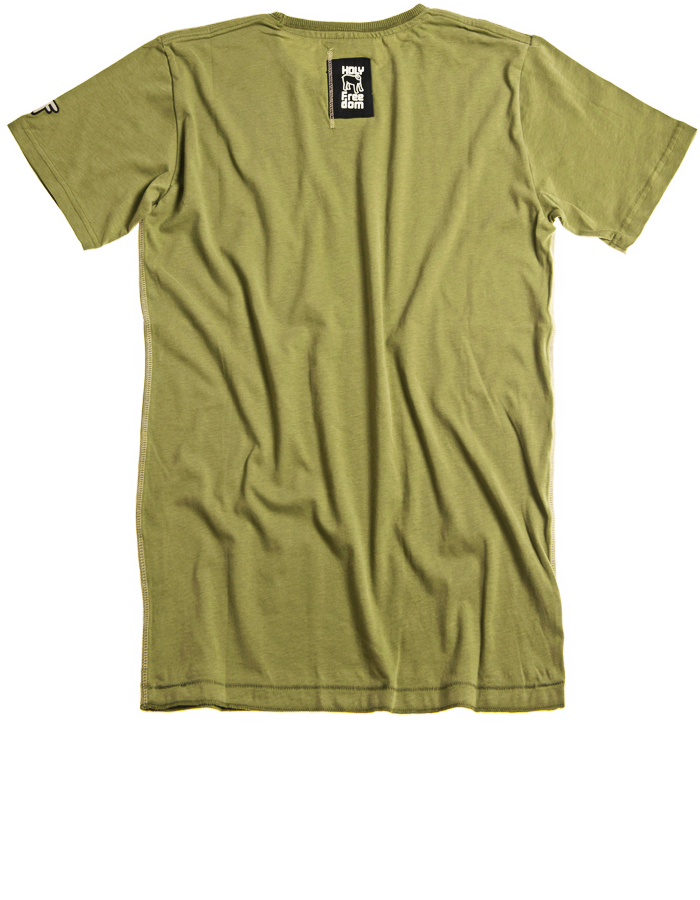 Holy Freedom Angels Green Short Sleeve T'Shirt
