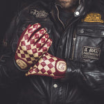 Holy Freedom Bullit Unsulto Burgundy Bordeaux Cream Beige Gloves