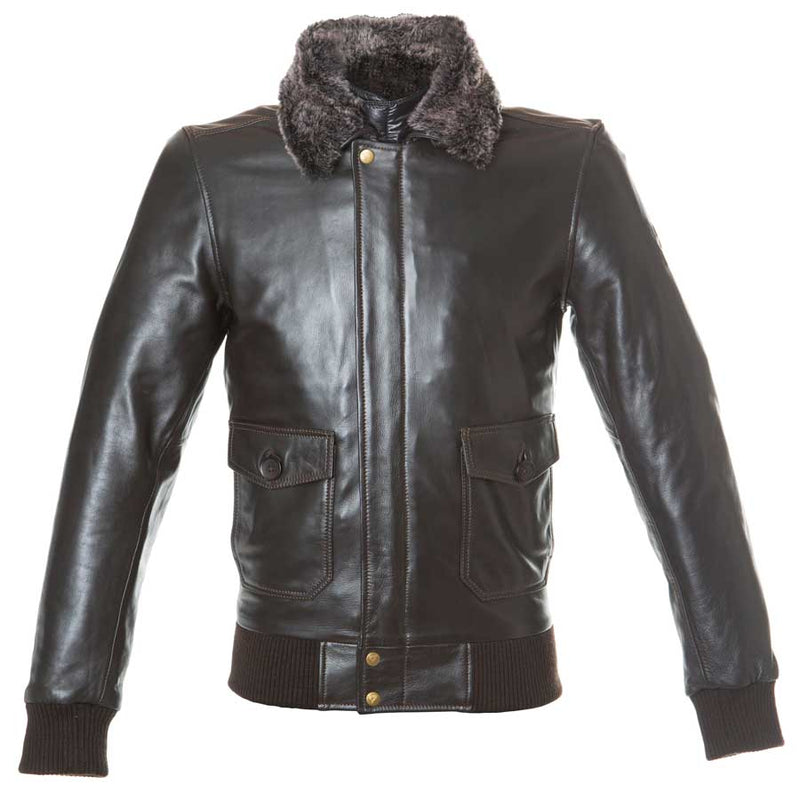 By City Mens Aviator Keather Motorcycle Jacket