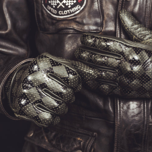 Holy Freedom Bullit Black and Green Gloves