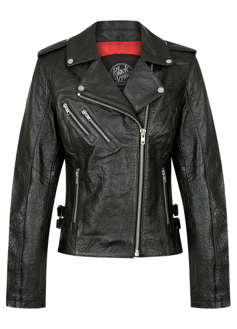 Black Arrow Ladies Nowhere Bound Denim Jacket