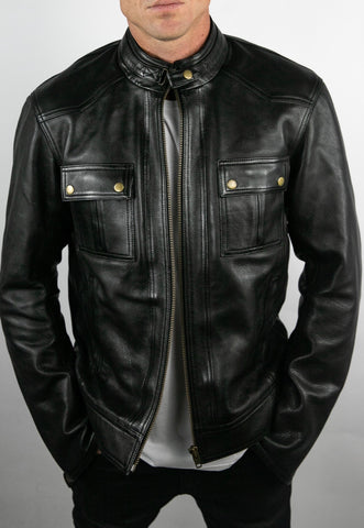 Blackbird Ladies Dakota Nubuck Leather Jacket