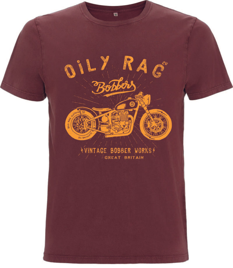 Oily Rag Clothing Bobber Works retro T'Shirt