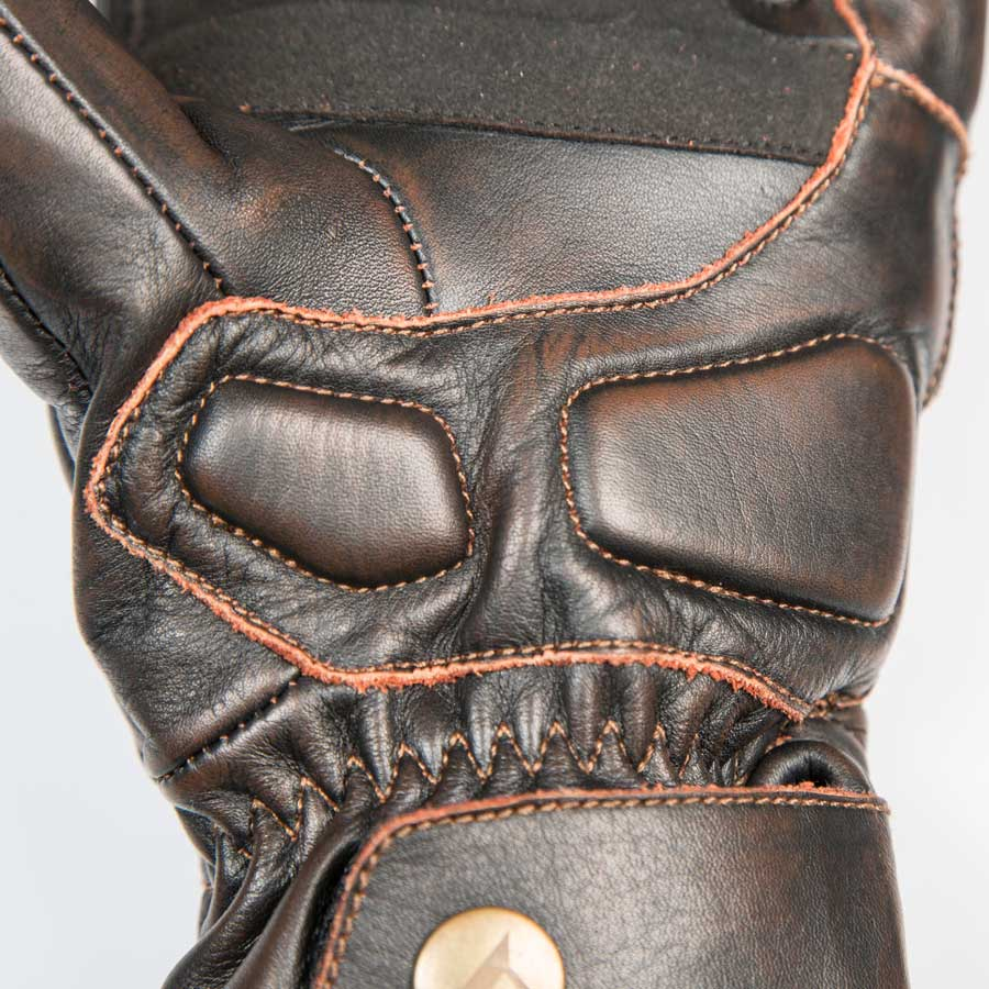 By City Mens Cafe II Leather Motorcycle Glove