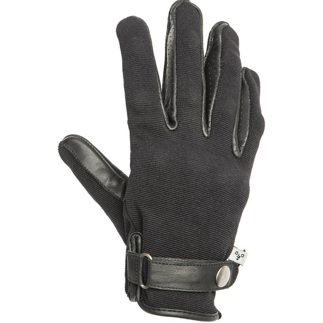 By City Mens California Textile Leather Motorcycle Glove