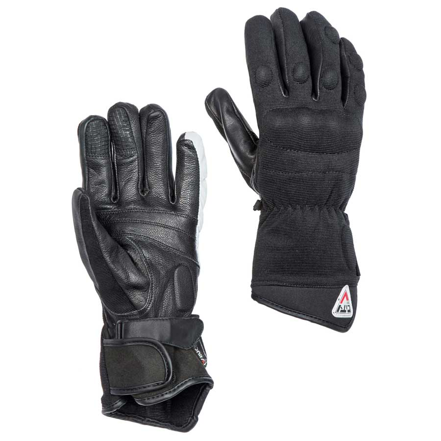 By City Mens Confort Textile Motorcycle Glove