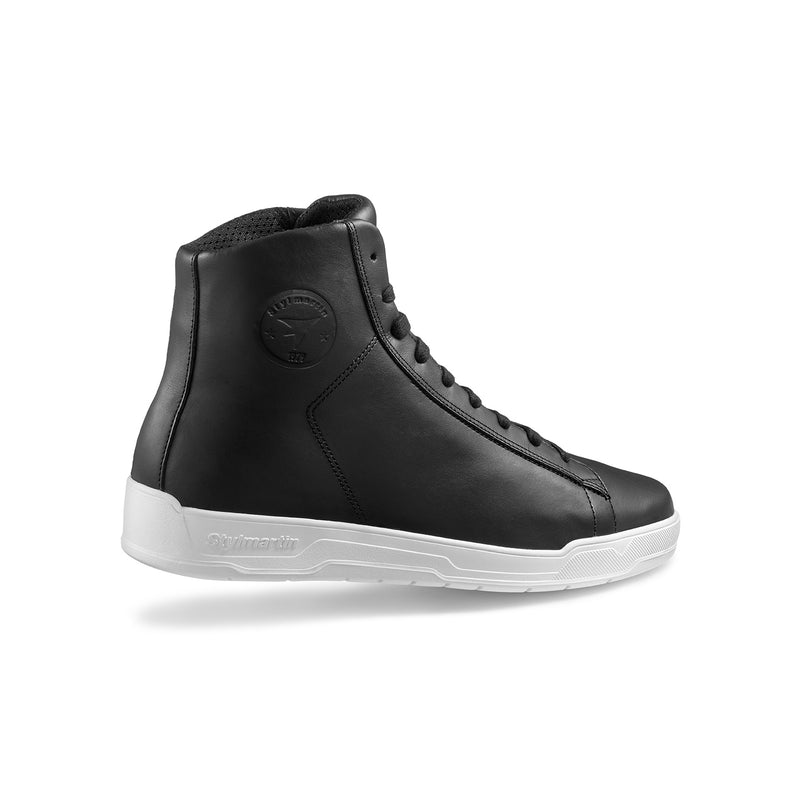 Stylmartin Core Motorcycle Sneaker in Black and White