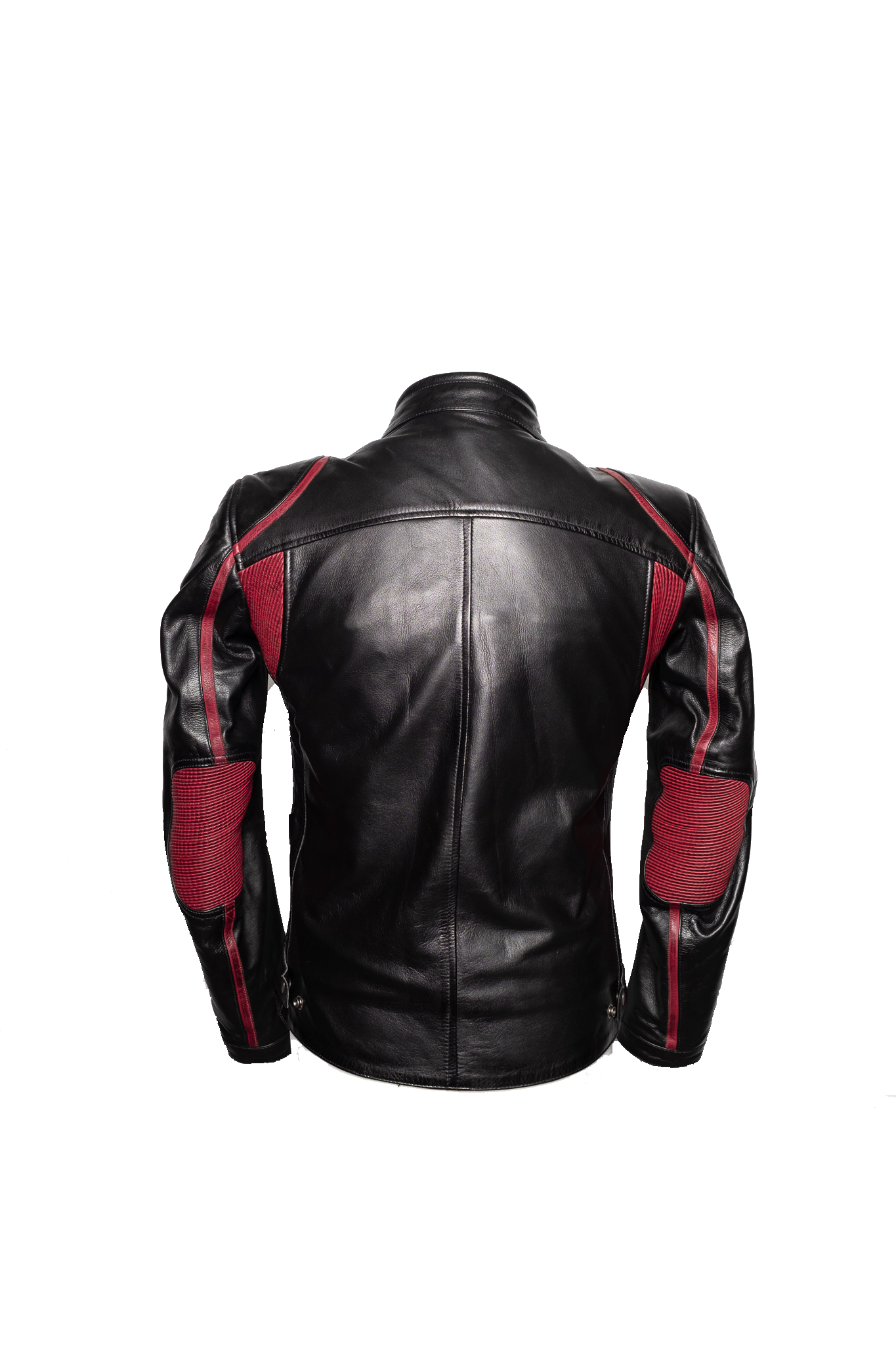 By City Mens Le Mans Leather Motorcycle Jacket