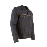 Resurgence Gear Selvedge PEKEV lined Denim Levi's style protective motorcycle jacket