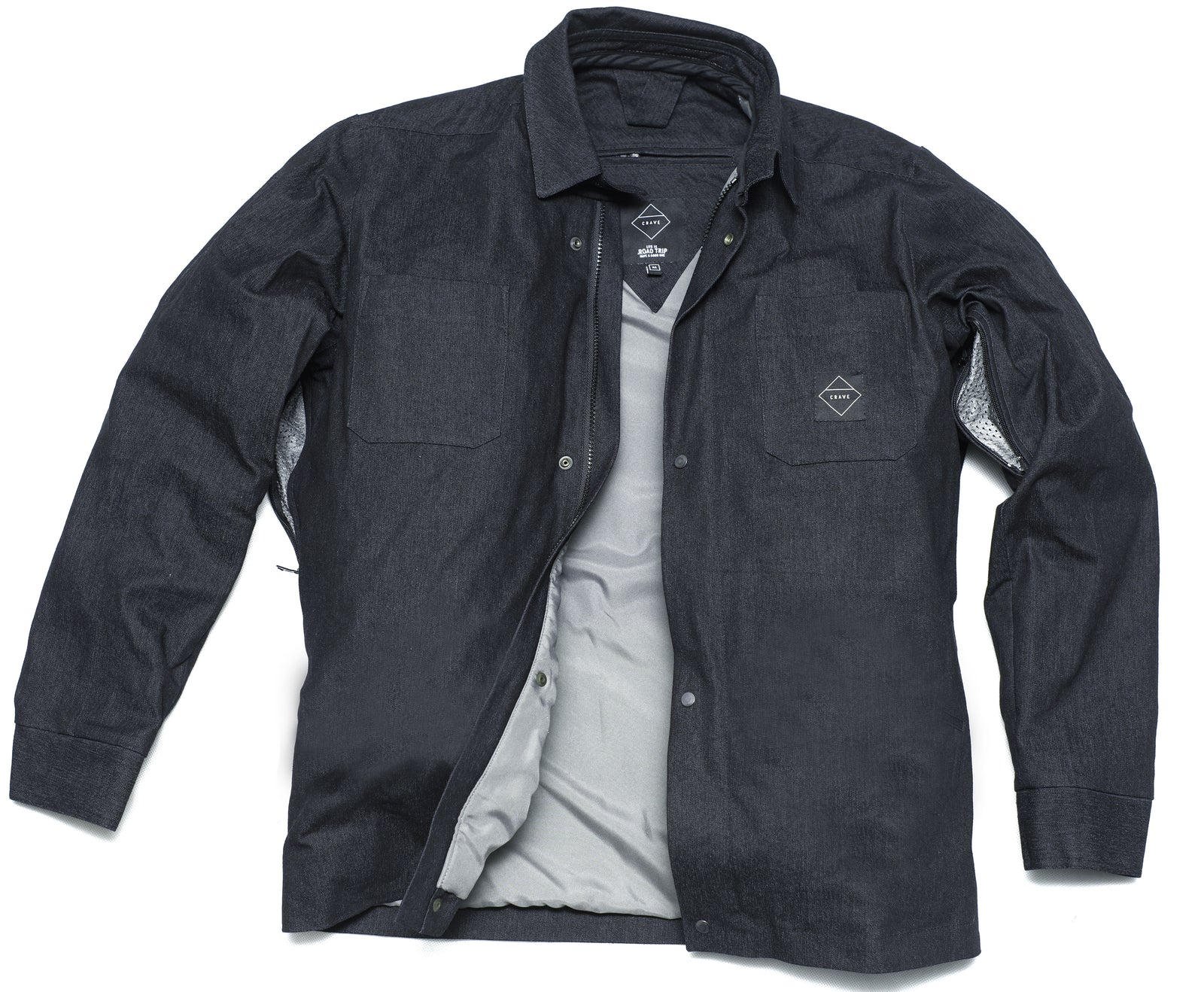 Crave Denim Kevlar lined Riding Shirt
