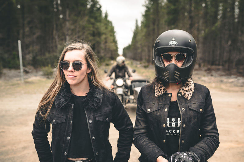 Blackbird Ladies Moscow Denim Motorcycle Jacket